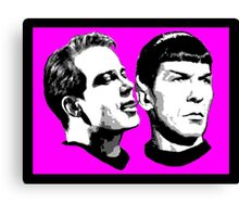 Boldly Go! Canvas Print