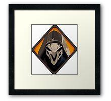 Reaper - Overwatch Framed Print