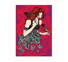 'Once upon a time there was Florence' (2) Art Print