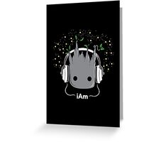i Am - Cute Groot  Greeting Card