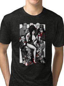 Horror-riffic Suitors Tri-blend T-Shirt