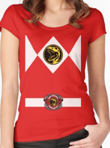 Red Ranger Women's Fitted Scoop T-Shirt