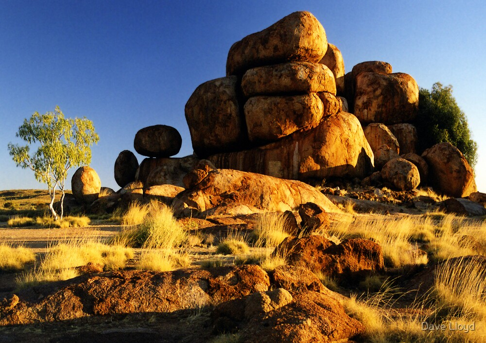 Devils Marbles by Dave Lloyd