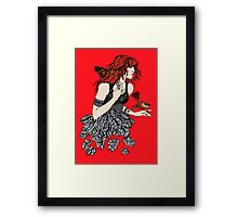 Once upon a time there was Florence Framed Print