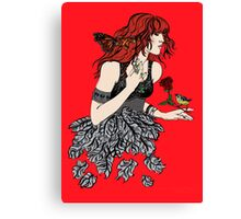 Once upon a time there was Florence Canvas Print