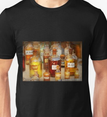 Pharmacy - Serums and Elixirs Unisex T-Shirt