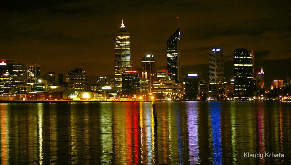 city of lights by Klaudy Krbata