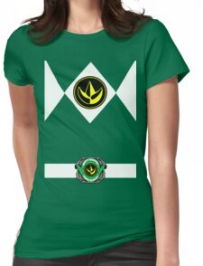 Green Ranger Womens Fitted T-Shirt