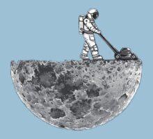 Man And The Moon Kids Tee