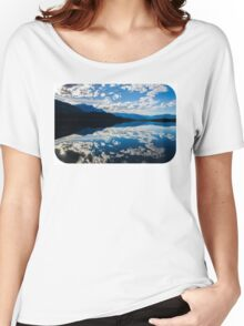 lower Lake before sunset  Women's Relaxed Fit T-Shirt
