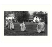 Avebury Wiltshire England no3 Art Print