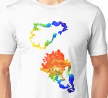 Colorful Oak Leaves Unisex T-Shirt