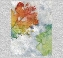 Colorful Oak Leaves 2 One Piece - Short Sleeve