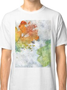 Colorful Oak Leaves 2 Classic T-Shirt