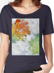 Colorful Oak Leaves 2 Women's Relaxed Fit T-Shirt