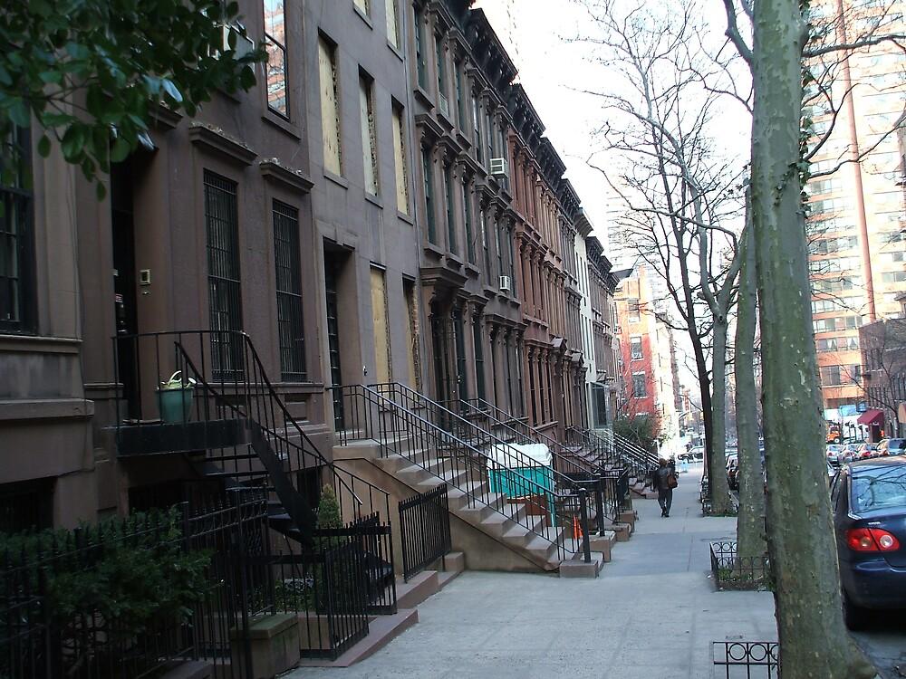 New York Brownstone by mazzy24
