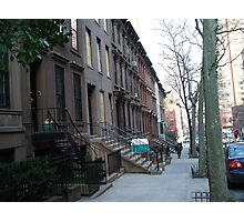 New York Brownstone Photographic Print