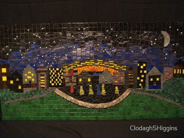 Starry Sydney Night Mosaic by ClodaghSHiggins