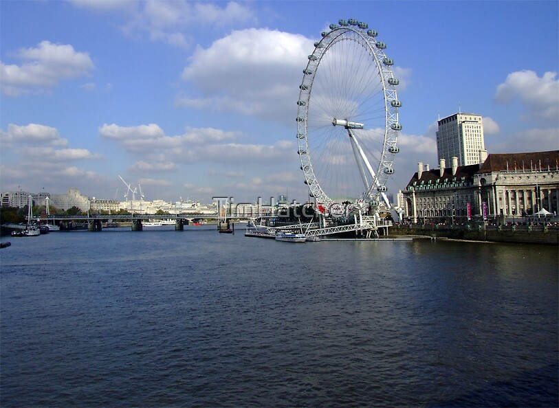 The Eye from London Bridge by TimHatcher