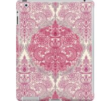 Happy Place Doodle in Berry Pink, Cream & Mauve iPad Case/Skin