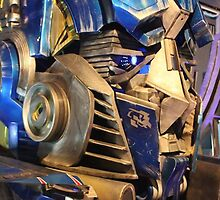 Transformers Optimus Prime by xbluex
