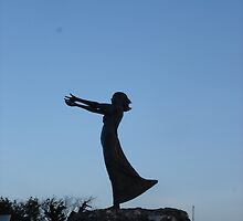 Waiting on the Shore Rosses Point  by ClodaghSHiggins