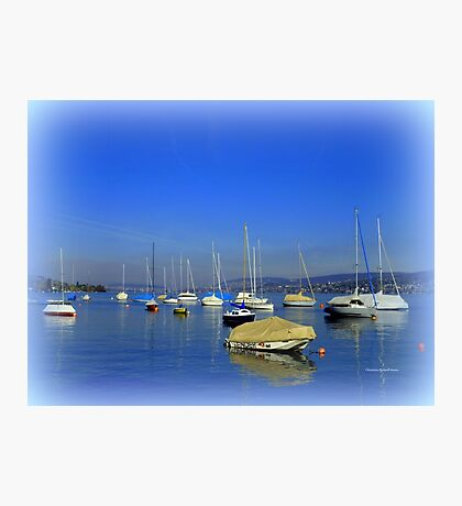 The Lake of Zurich Photographic Print