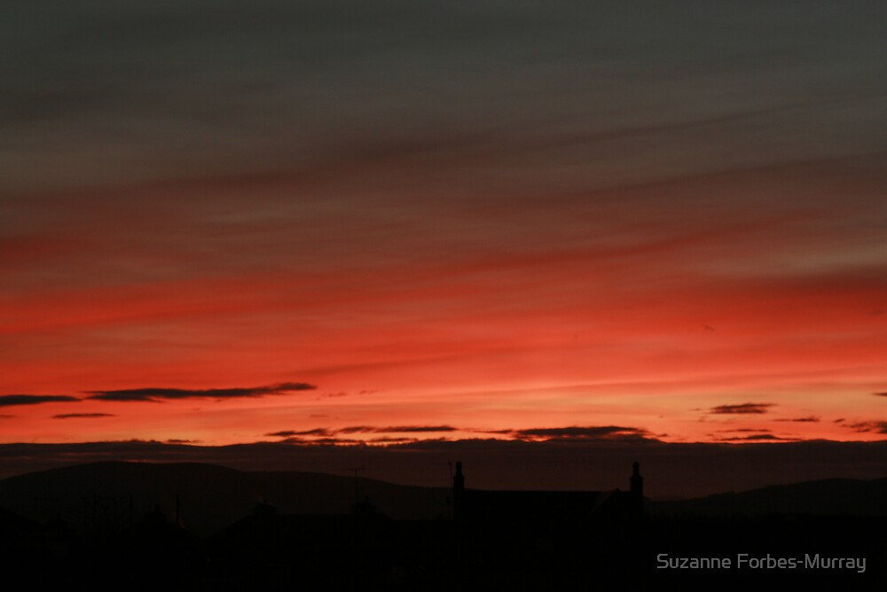 Red Sky at Night  by Suzanne Forbes-Murray