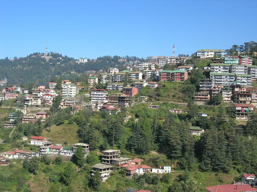 Shimla by barkha