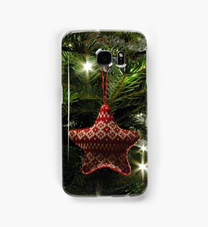 Knitted star Samsung Galaxy Case/Skin