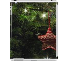 Knitted star iPad Case/Skin