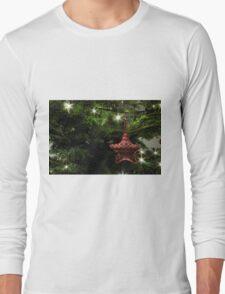 Knitted star Long Sleeve T-Shirt
