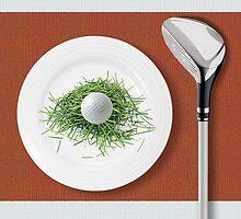 Golf instead of dinner by Awock