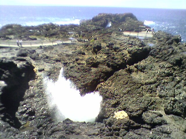 kiama blow hole by sanduse