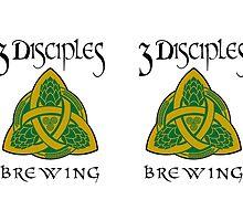 3 Disciples Brewing Logo by vigor
