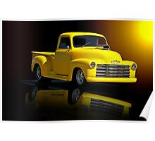 1953 Chevrolet Pickup 'Reflections of Yesterday' Poster