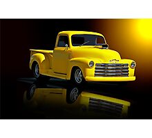1953 Chevrolet Pickup 'Reflections of Yesterday' Photographic Print