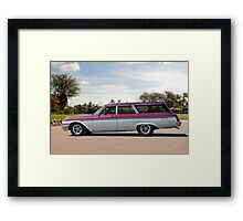 Mama's Grocery Getter ...... Framed Print