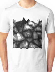 Gray spikes Unisex T-Shirt