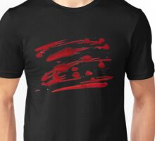 Red Ink Splash Unisex T-Shirt