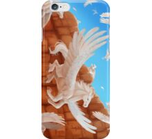 Pegasus Migration through a Desert Canyon iPhone Case/Skin