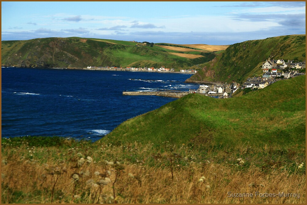 Crivie and Gardenstown by Suzanne Forbes-Murray