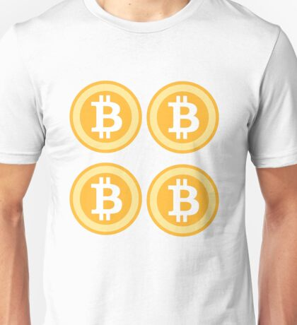 Bitcoin 4some Unisex T-Shirt