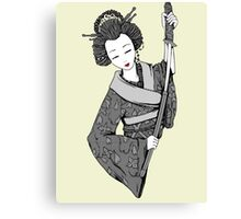Vecta Geisha 4 Canvas Print