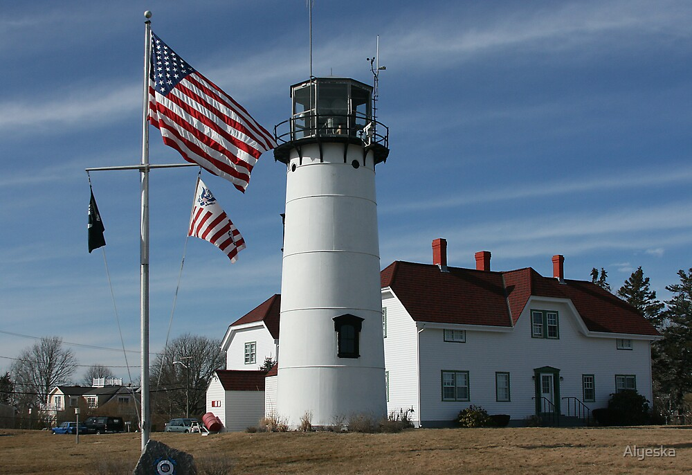 Chatham Light by Alyeska