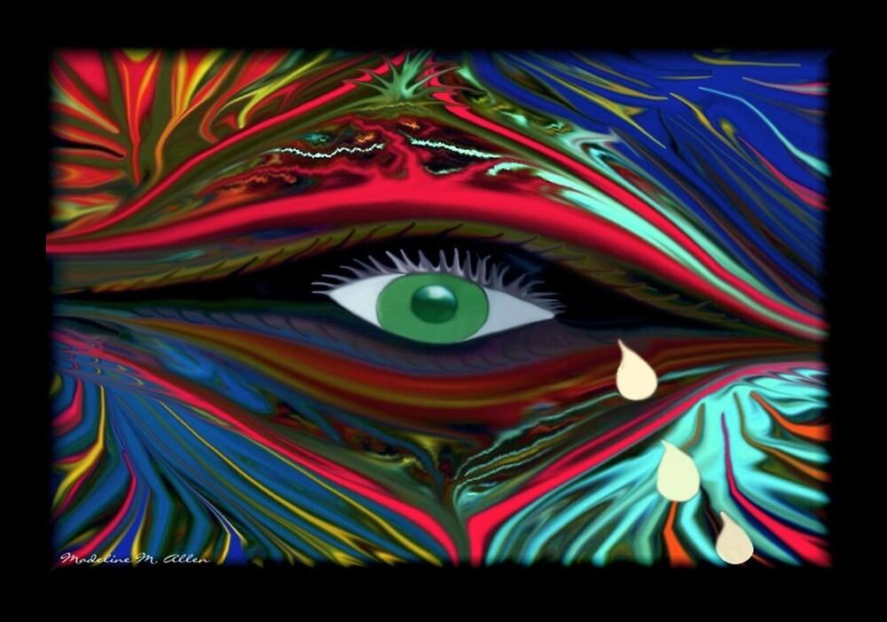 Tear Drops by Madeline M  Allen