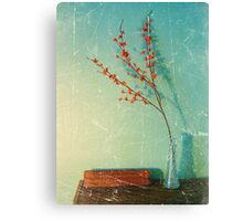 Still Life with vase Canvas Print