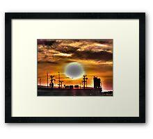 Bright Sun Framed Print