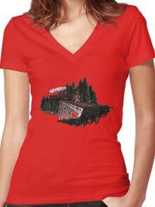 Trraaaaiiiinnnn!!! Women's Fitted V-Neck T-Shirt