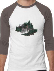Trraaaaiiiinnnn!!! Men's Baseball ¾ T-Shirt